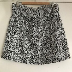 Torrid Floral Cut out Back Tube Top Size 1 NWT